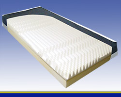 5 zoned theraupetic mattress