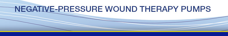 Negative Pressure Wound Therapy Pumps Banner